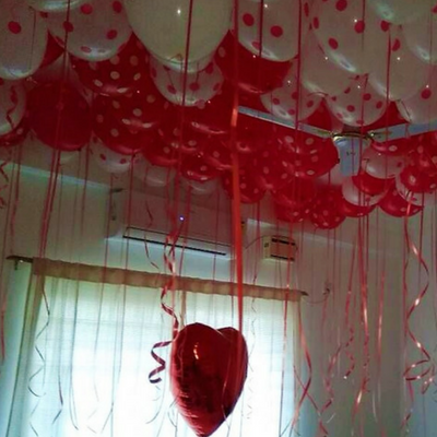 Wonderful Balloon Decoration Ideas For Romantic Date