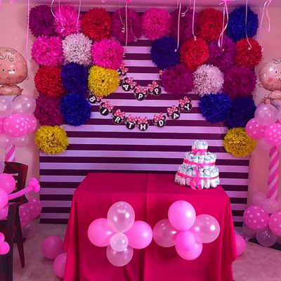Balloon Decoration For Birthday Party In Hyderabad Party Themes Party Decorations