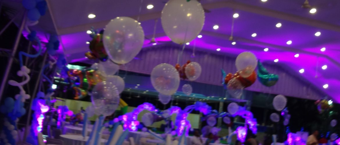 top 8 creative party hall decoration ideas with balloonsParty Hall Decoration Ideas #15